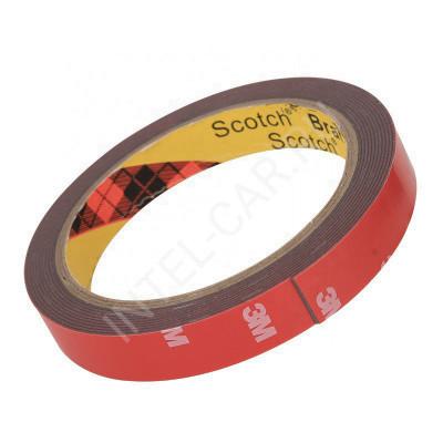 Двухсторонний скотч 3М 4229P, 8мм x 3м, толщина 0.8мм. Серый