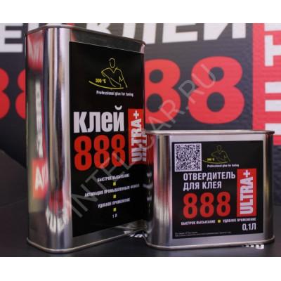 Клей 888Ultra+ 1л в комплекте с отвердителем