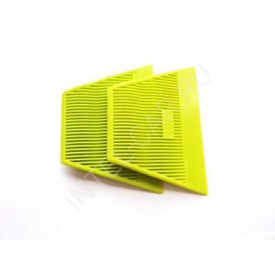 Ракель Qili мягкий силиконовый, светло-зеленый