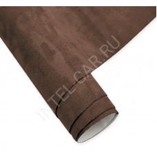 Алькантара KSF самоклеящаяся коричневая