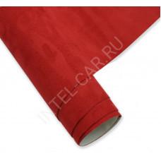 Алькантара KSF самоклеящаяся красная