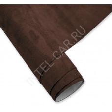 Алькантара KSF самоклеящаяся мокко(темно-коричневая)