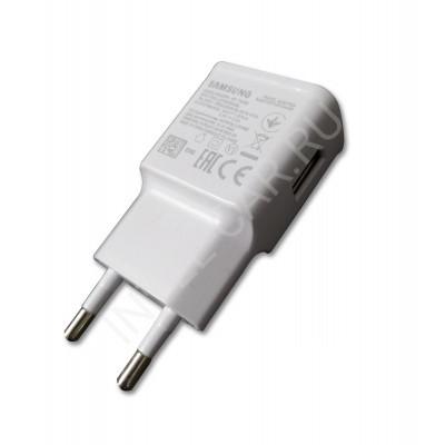 Сетевой USB адаптер 5v 2a белый
