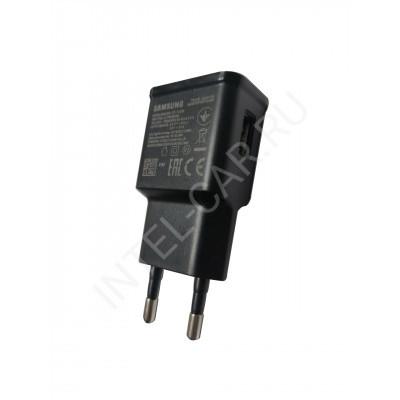 Сетевой USB адаптер 5v 2a черный
