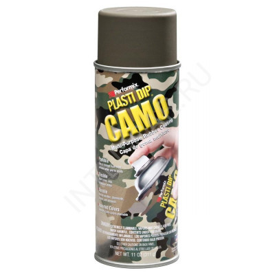 Plasti Dip аэрозольный Камуфляж: Зеленый (Camo green)
