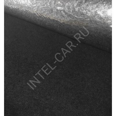 Карпет автомобильный, самоклеящийся - Черный