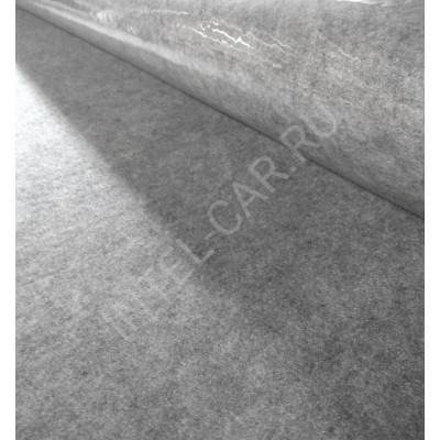 Карпет автомобильный, самоклеящийся - Светло-серый, ширина 1.5м