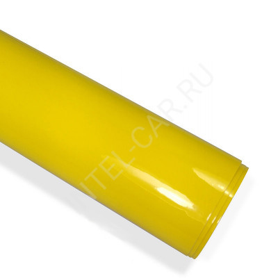 Пленка глянцевая желтая (эконом) PSK