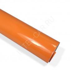 Пленка глянцевая оранжевая