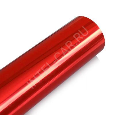 Пленка зеркальный хром красный