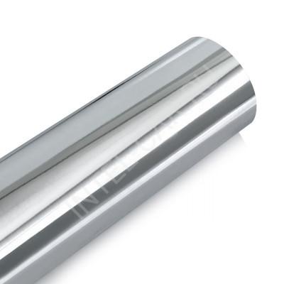 Пленка зеркальный хром серебро с каналами (эконом)