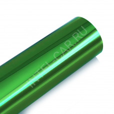 Пленка зеркальный хром зеленый