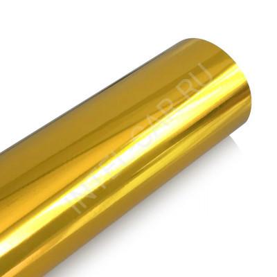 Пленка зеркальный хром золотой премиум