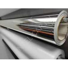 Пленка зеркальный хром серебро премиум на бумажной подложке