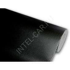 Пленка Карбон 3D - черный, крупная ячейка