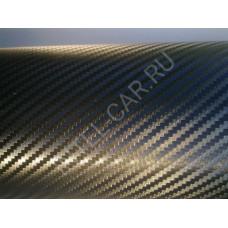 Пленка Карбон 3D - черный, мелкая ячейка KSF