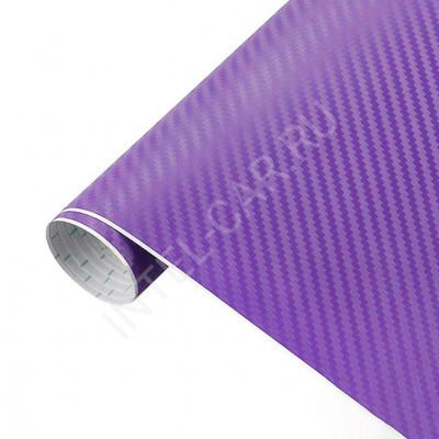 Пленка Карбон 3D фиолетовый 5Star