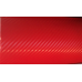 Пленка Карбон 3D красный 5Star
