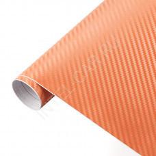 Пленка Карбон 3D оранжевый 5Star