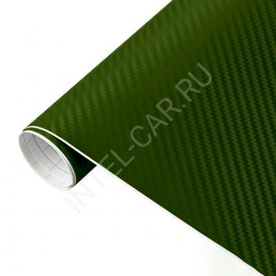 Пленка Карбон 3D зеленый 5Star