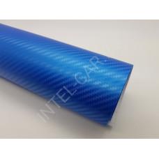 Пленка Карбон 3D ярко-синий 5Star