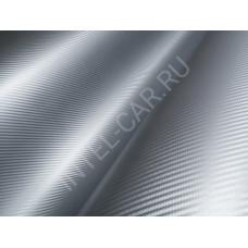 Пленка Карбон 3D серебро 5Star