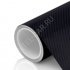 Пленка Карбон 4D черный
