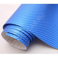 Пленка Карбон 4D голубой n\n