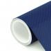 Пленка Карбон 4D темно-синий Nippon