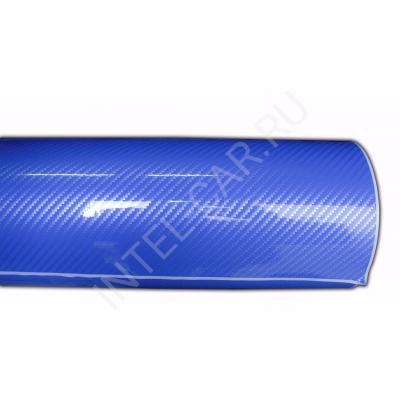 Пленка Карбон 2D синий 5Star
