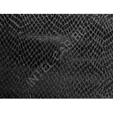 Пленка под кожу змеи черная (кобра)