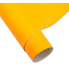 Пленка матовая насыщенно-желтая (эконом) mcCarbon