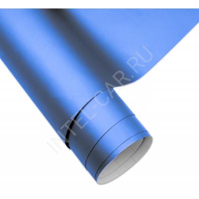 Пленка матовая перламутровая синяя 5Star
