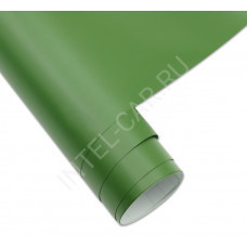 Пленка матовая темно-зеленая \ хаки n\n