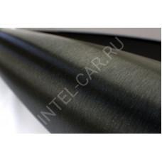 Пленка шлифованный алюминий черный