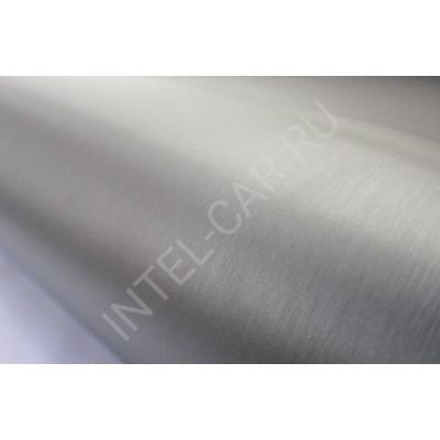 Пленка шлифованный алюминий серебро