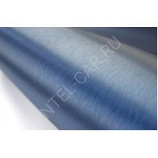 Пленка шлифованный алюминий светло-синий