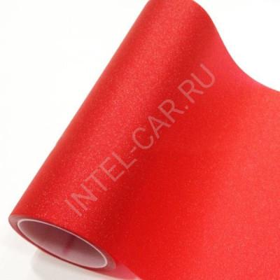 Тонировка для фар Алмазная крошка красная