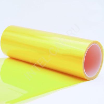 Тонировка для фар глянцевая желтая
