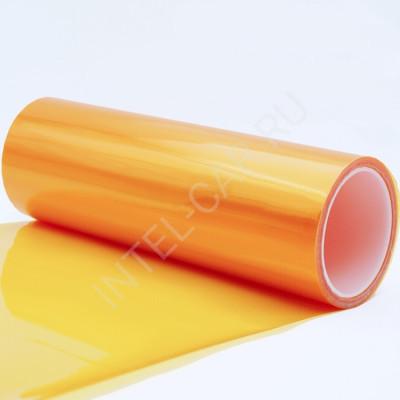 Тонировка для фар глянцевая оранжевая
