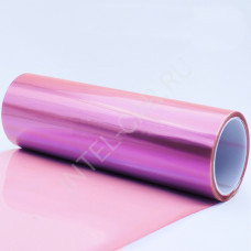 Тонировка для фар глянцевая розовая