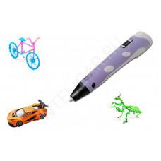 3Д ручка 3D Pen-2 фиолетовая