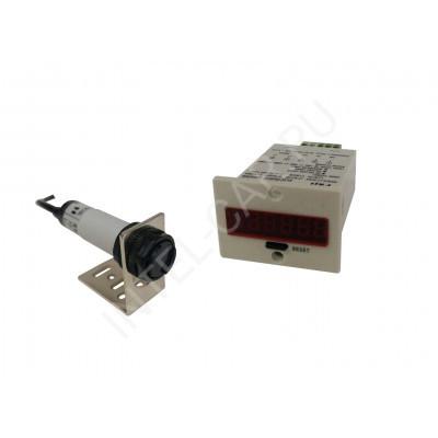 Электронный счетчик продукции / объектов с фотоэлектрическим датчиком SR-3