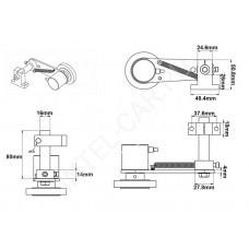 Кронштейн для счетчика метража RM-4 / RM-5A